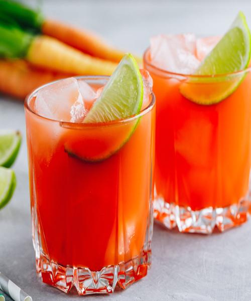 Carrot Ginger Lemonade