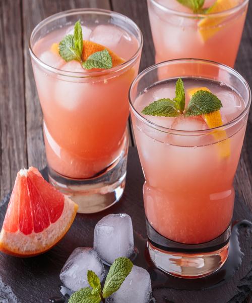 Grapefruit Mint Juice