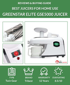Tribest Green Star Elite GSE-5000 Review - JoyBestJuicer.com