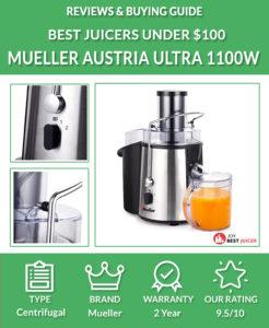 Mueller Austria Juicer Ultra 1100W Power Review - best juicer under $100