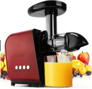 koios slow masticating juicer extractor
