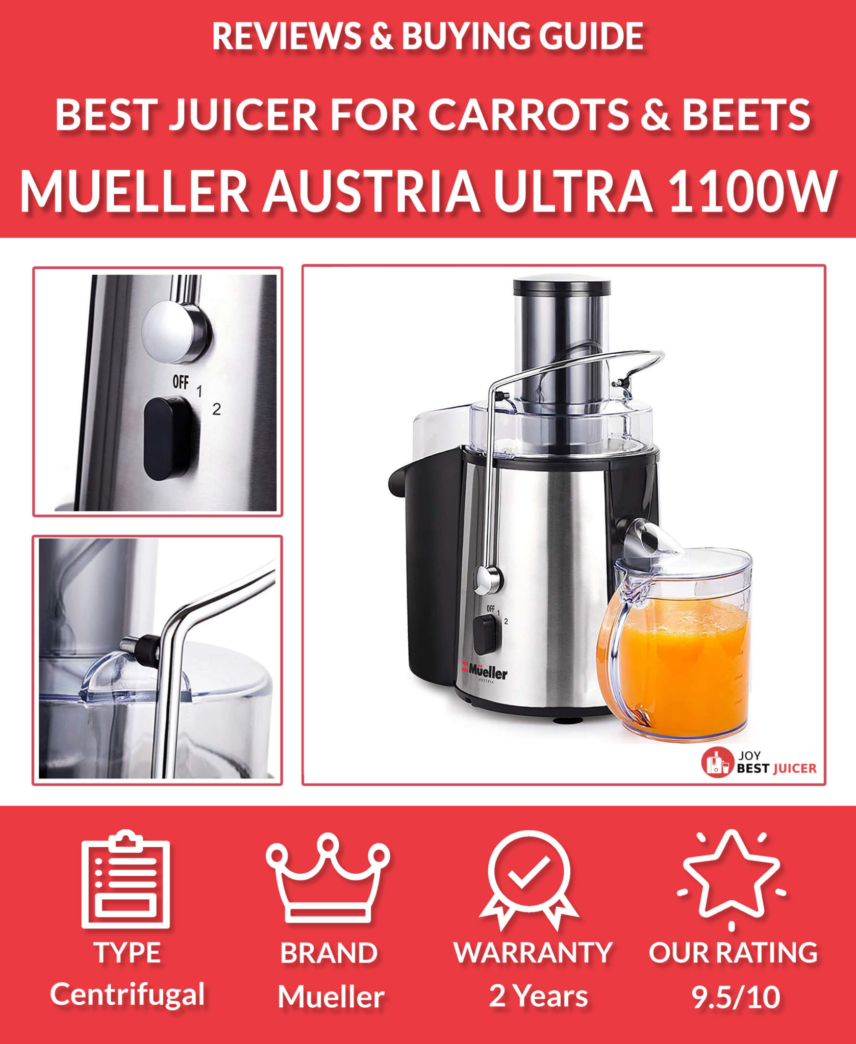 Best Juicer for Carrots and Beets Top 4 Picks June 2020