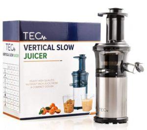 TEC Portable Slow Masticating Juicer - best pomegranate juicer