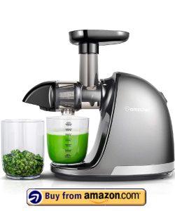 AMZCHEF Slow Juicer Extractor - Best Vegetable Juicer 2021