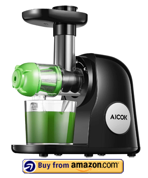 Aicok Slow Masticating Juicer - Best Masticating Juicers 2021