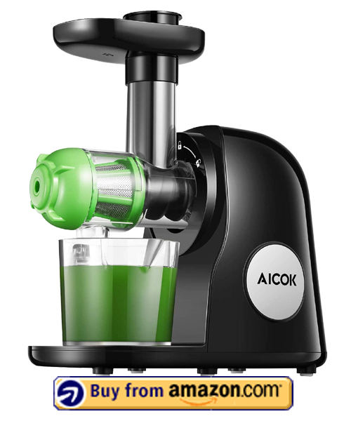 Aicok Slow Masticating Juicer - Best Juicer For Detox 2021
