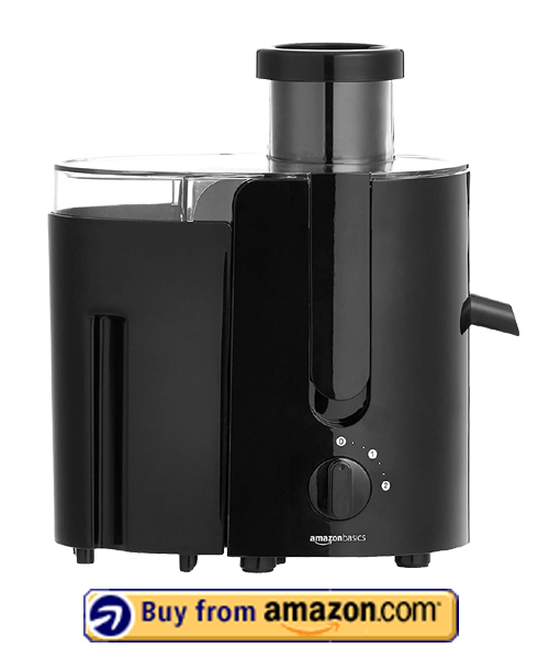 AmazonBasics Wide-Mouth Juicer - Best Cheap Juicer 2021