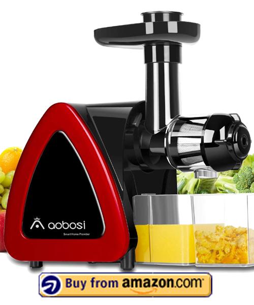 Aobosi Slow Masticating Juicer - Best Juicer For Celery Under $100 2021