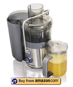 Hamilton Beach Premium Juicer Machine - Best Tomato Juicers 2021