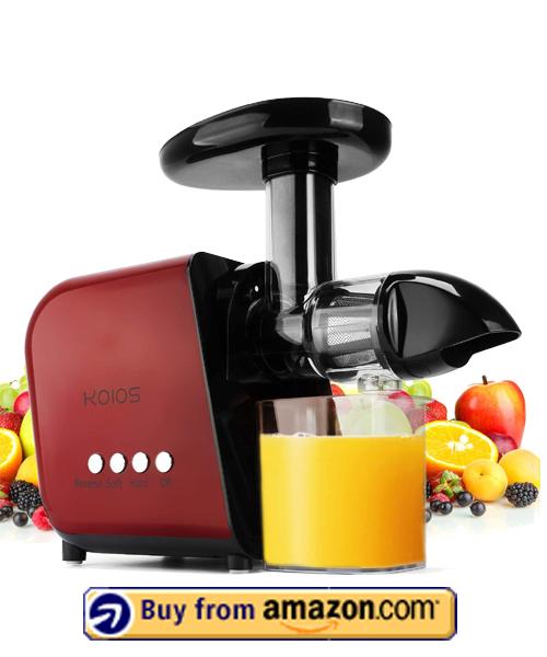 KOIOS Cold Press Juicer - Best Budget Juicer 2021
