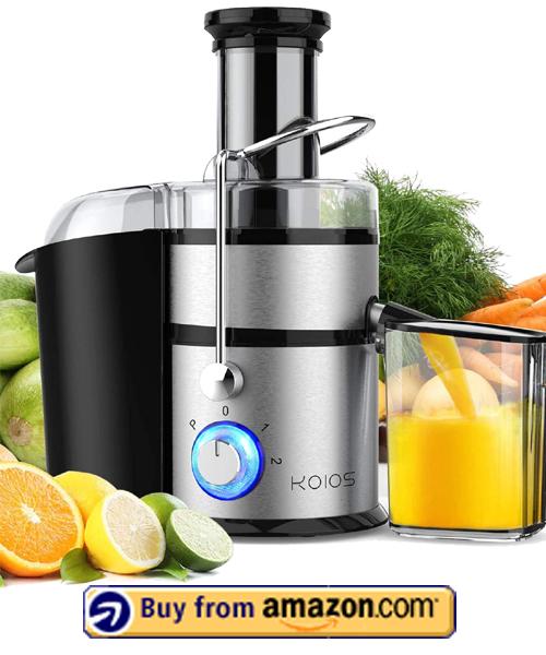 KOIOS Juice Extractor - Best Centrifugal Juicer 2021