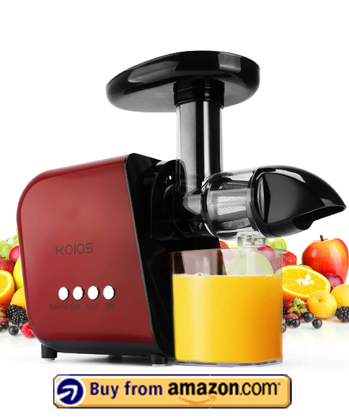 KOIOS Juicer - Best Fruit Juicer 2021