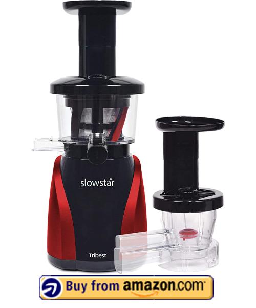 Tribest SW-2000 Slowstar - Best Vertical Slow Juicer 2021