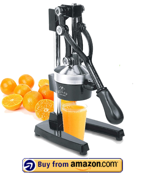Zulay Professional Citrus Juicer - Best Citrus Juicer 2021