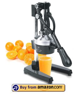 Zulay Professional Citrus Juicer - Best Manual Pomegranate Juicer 2021