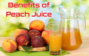 benefits of peach juice