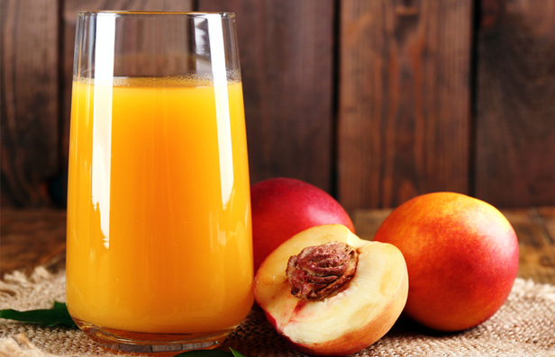 how to make peach juice
