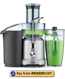 Breville BJE430SIL Juice Fountain Cold Centrifugal Juicer,